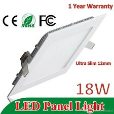 18w Watt LED Ultra Slim Square Ceiling/POP/False Ceiling Panel Light Roof 6500K