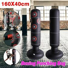 160cm Free Standing Inflatable Boxing Punch Bag Kick MMA Training Kids Adults AN