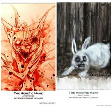 GET BOTH! THE HERETIC HARE : ARTIST SERIES Combo Set : TACCARDI & CARTER PRINTS