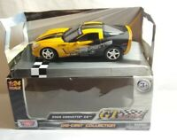 MOTOR MAX GT RACING 1:24 SCALE DIECAST 2005 CHEVROLET CORVETTE C6 - 73770 BOXED