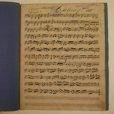 HAYDN symphony 13 , violin 2 part , antique music manuscript #2