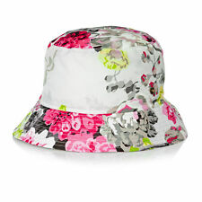 Joules Rainy Day Rain Hat Silver Floral