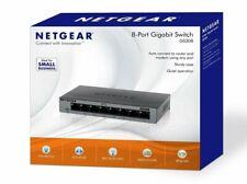 Ethernet Wallmount Switch Router 8 Port Gigabit Desktop 10/100/1000 Mbps