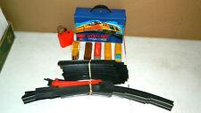 Vtg 1970 70'S Mattel Hot Wheels Hot Line Speed Chief Train Set W/ Track & Case