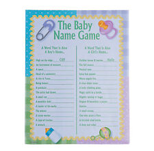 Baby Names Baby Shower Game 24 players Fun