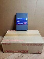 10 Sony Betacam SP Tape BCT-5MA