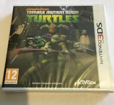 Teenage mutant ninja turtles (tortues ninja) Jeu 3ds Neuf Sous Blister