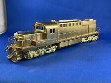 Brass, HO ALCO DL-600B Alligator Low Nose (S9-982)