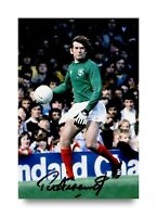 Pat Jennings Signed 6x4 Photo Arsenal Tottenham Hotspur Genuine Autograph + COA