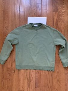 John Ellliott Replica Crewneck Sweatshirt In Green Sz 3 Medium Large Kith Union