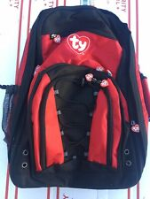 Back Pack Large Heavy Duty Ty Beanie Babies Traveling Salespersons Bag Used