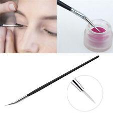 Pro MakeUp Cosmetic Eye Brushes curve Eyeshadow Eye Brow Tool Lip eyeline New