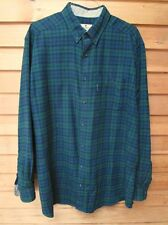 "Vintage Woolwich Watch Plaid Shirt,Mens Xlt, 35 1/2""Long,Button Down Collar"