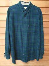 "Vintage Woolwich Watch Plaid Shirt,Mens Xlt, 35 1/2""Long,Button Dow 00000421 n Collar"