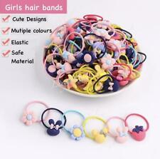 Girls hairbands clips toddler hair ties pigtails pink pony tail hairbands kids