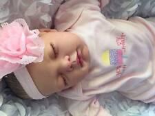Custom impresionante Reborn falso bebé niña Lotty recién nacido amigable 3+