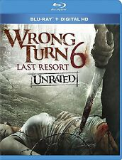 Wrong Turn 6 - Last Resort (Blu-ray Unrated) Anthony Ilott, Chris Jarvis NEW