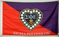 Sigma Phi Epsilon SigEp Fraternity Chapter Flag 3' x 5' Banner