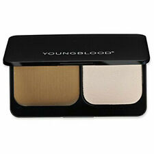 YOUNGBLOOD Pressed Mineral Foundation TWO Shade Palette NIB (COFFEE)