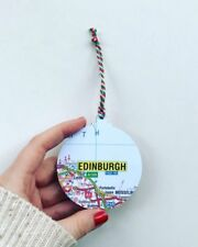 Bauble Map Christmas Decoration - Choose the map
