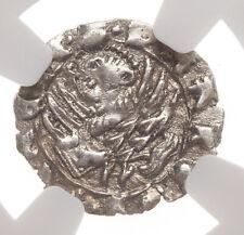 ITALY, Venice. Francesco Foscari, 1423-1457, Silver Soldino, NGC MS62