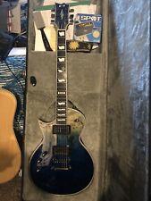 ESP Eclipse E-II Natural Blue Fade -