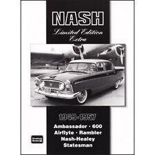 Nash LIMITED EDITION EXTRA 1949-1957 BOOK LIBRO