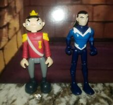 BANDAI TEEN TITANS GO VINTAGE AQUALAD & PUPPET KING from 2 Pack 2004 DC