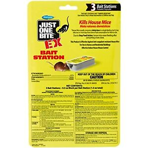 Just One Bite 100528604 EX Mouse Bait Station