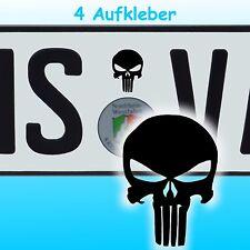 A4S# Aufkleber Totenkopf Punisher Sticker Decal JDM OEM Skull Auto Tuning