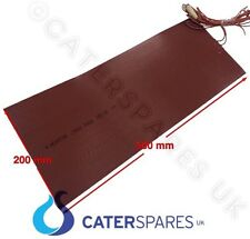 SILICONE FLEXIBLE RUBBER HEATING ELEMENT HEAT MATT PAD 200X500MM 300W 240V