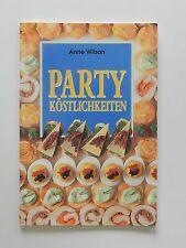 Anne Wilson Party Köstlichkeiten