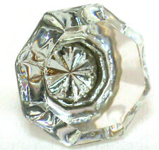 Crystal Glass Knobs, Kitchen Cabinet Pulls or Vanity Drawer Handles #T3- SET/36