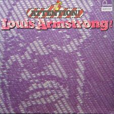 LOUIS ARMSTRONG Attention GER Press Fontana 6430 027 LP