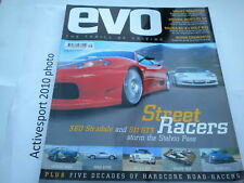 EVO Magazine Issue 59 Sept 2003 RX-8 - R32 - clio cup v6 - RS 500 - Bentley GT