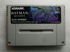 Batman Returns Super Famicom Import JAP