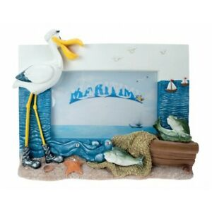 CERAMIC PHOTO FRAME WITH NOVELTY PELICAN