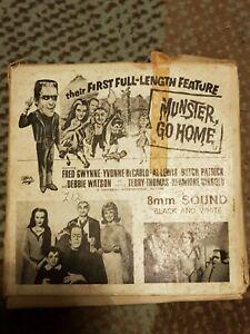 Super 8mm Film Munster Go Home 400ft Black And White Sound