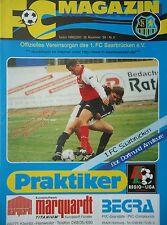 Programm 1999/00 1. FC Saarbrücken - Borussia Dortmund Am.