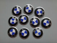 10 x 14mm BMW Replacement Key Fob Badge Sticker