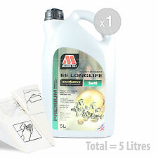 Car Engine Oil Service Kit / Pack 5 LITRES Millers NANODRIVE EE 5w-40 5L