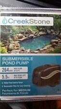 Creek Stone 264 GPH SUBMERSIBLE FOUNTAIN POND PUMP