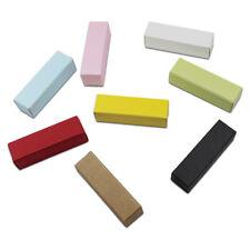 DIY Kraft Paper Lipstick Tube Box Oil Scream Perfume Packaging Gifts Case Boxes