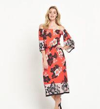 BNWT South Orange Off The Shoulder Dress Size 12 Petite RRP £49