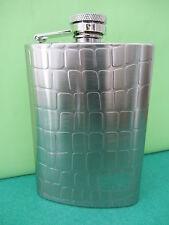 Flasque de poche inox relief 17 cl