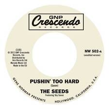 "THE SEEDS Pushin' Too Hard vinyl 7"" NEW garage punk unedited version EXCLUSIVE"