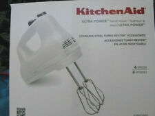 KITCHENAID 6-SPEED ULTRA POWER HAND MIXER***WHITE***BRAND NEW****