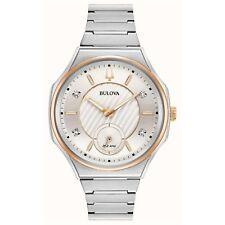 Bulova 98P182 Women's Curv Diamond Set Wristwatch