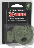 SS Star Wars X-Wing: 2nd Edition Scum and Villainy Maneuver Dial Upgrade Kit NEW