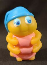1986 Gloworm Glow Worm Glo Friends Snug Bug Snugbug Finger Puppet Figure 3""